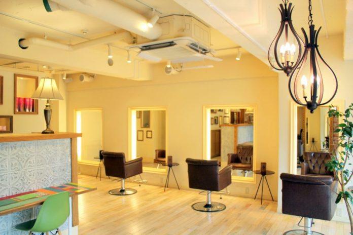 Bóng đèn Salon tóc tại Daikanyama
