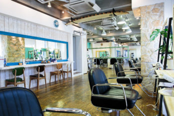 Natura Hair Salon in Omotesando