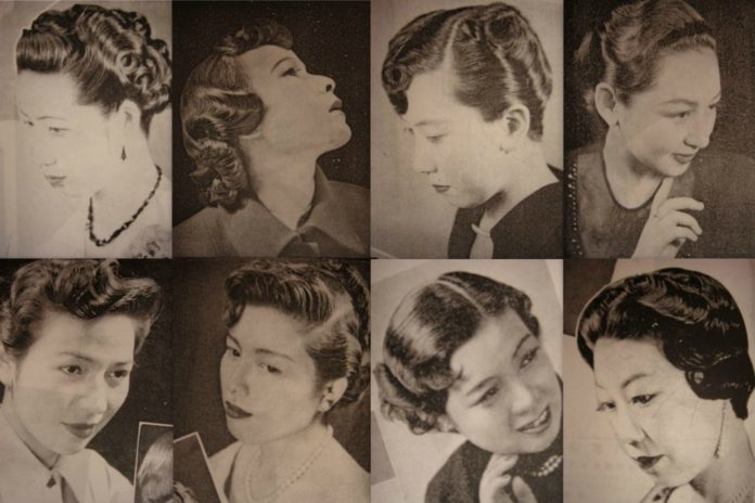 Japanese Hairdressers: Techniques of Now and Yesteryear