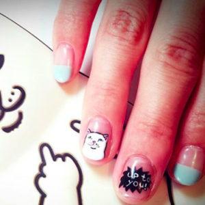 Nail art of Hi Nails! salon in Daikanyama, โตเกียว