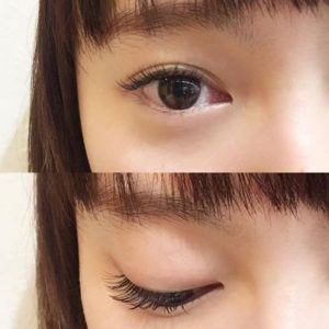 Eyelash extension of Roops salon in Omotesando, 東京