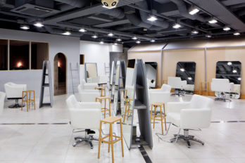 Dot+LIM Hair Salon in Omotesando