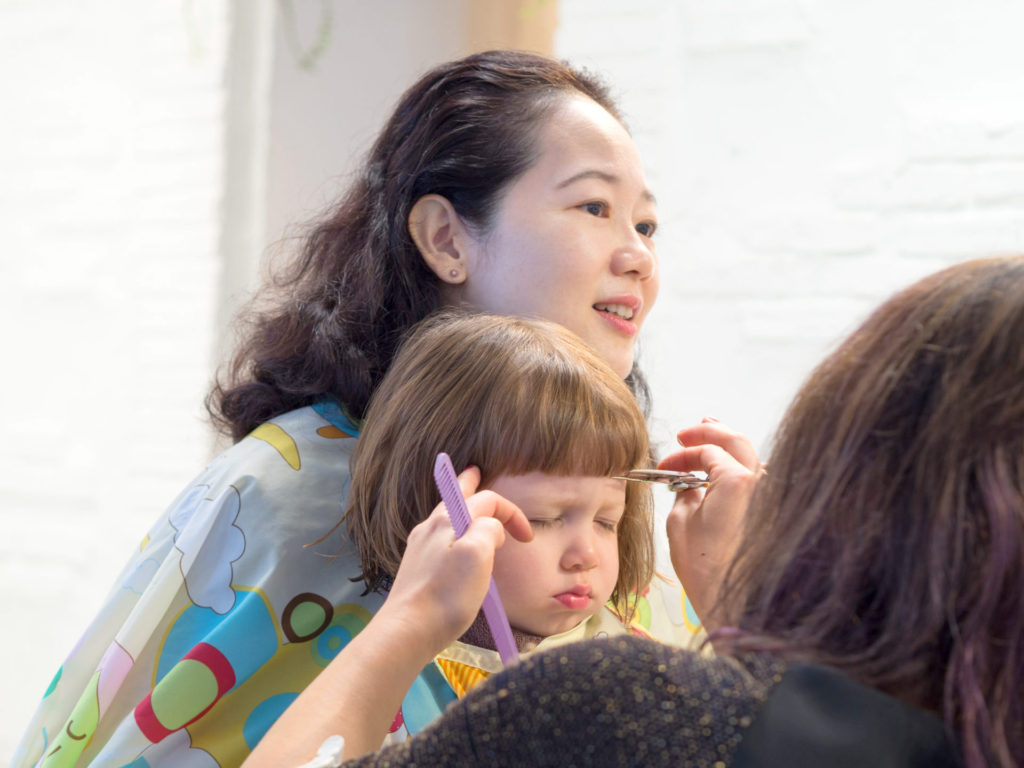 (Salon MINT) Haircuts for kids and parents - a fun family affair in Tokyo