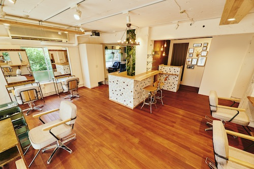 Salon de coiffure MINT Ting à Ebisu