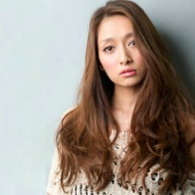 Japanese hairstyle 1 - for long hair (by INSOLITE BEAUTE salon, Tokyo)