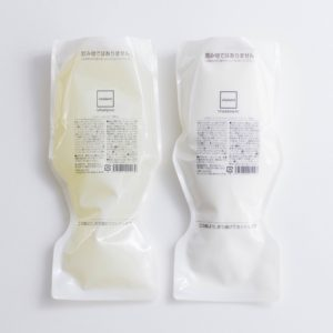 Chalant! Shampoo and Chalant! Treatment refill packs (salon ANTI, Tokyo)