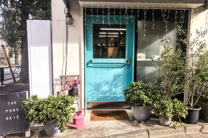 The Pond Rambut Tokyo Salon di Nakameguro