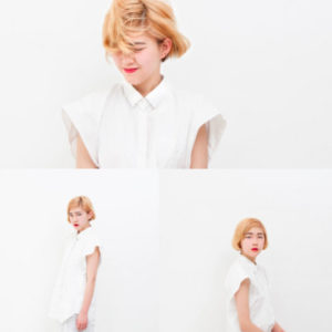 Japanese hairstyle for women- short hair (by salon Boy Attic , Tokyo)