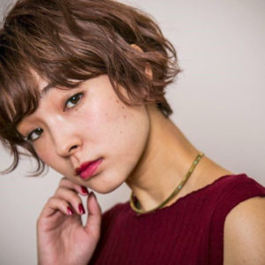 Japanese hairstyle for women- short hair (by Salon Apish Cherie , Tokyo)