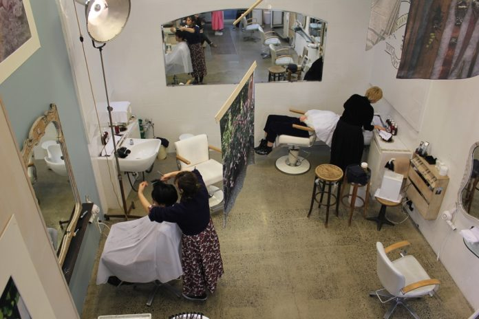Boy Attic Hair Salon in Daikanyama