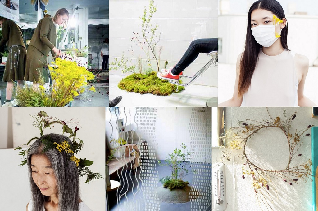 Salon Boy Attic package - Picture 3 - Hair stylist and floral artist collaboration