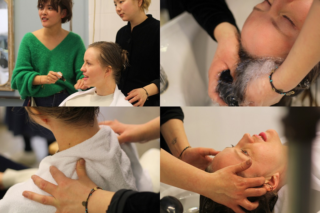 Salon Boy Attic package - Picture 4 - sparkling water spa and aromatic head massage