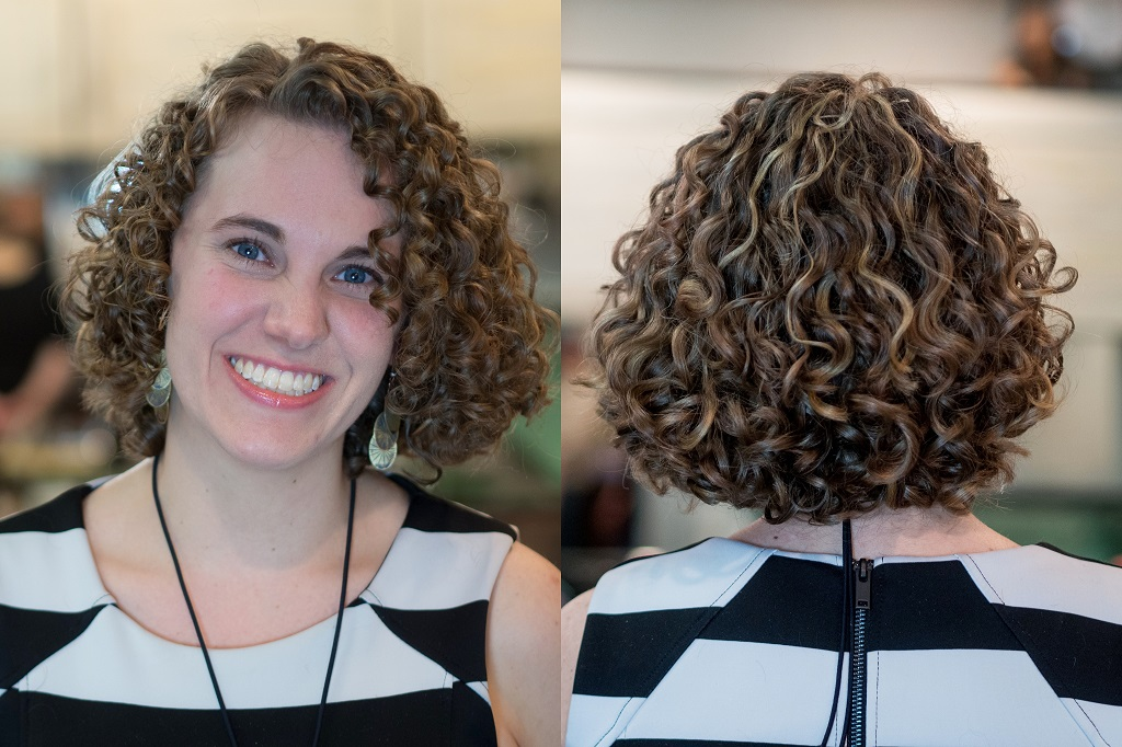 Salon Nepenji package - Picture 5 - beautiful haircut and 3D hair color for natural curly hair