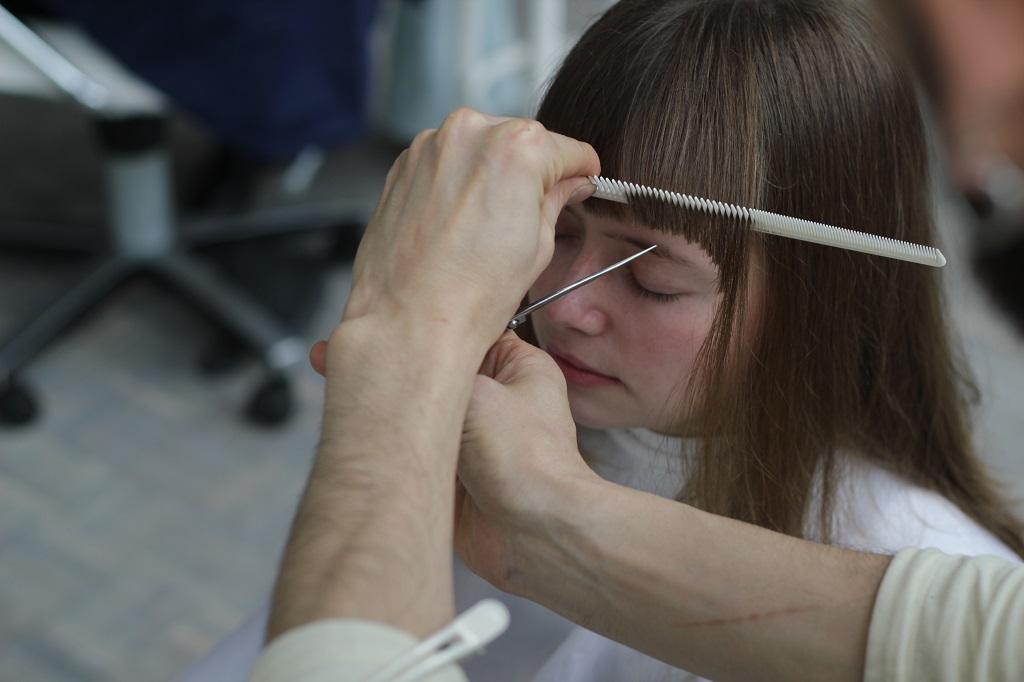 Jepang rambut salon Boy Tokyo - potong rambut & paket spa kepala - 4 - Texturizing poni