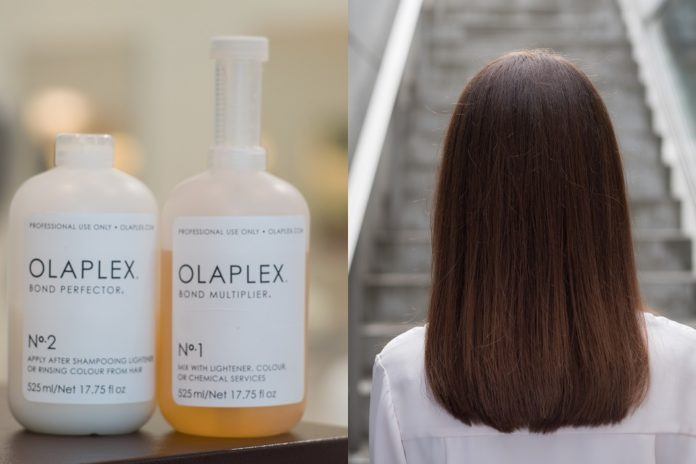 Revive your dry & damaged hair with a luxury OLAPLEX service