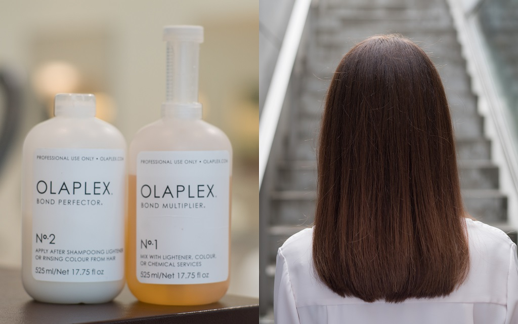 Salon RENJISHI package 2- Give your dry & damaged hair more body with a luxury OLAPLEX