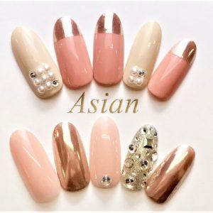 Asian nail salon Shibuya, Tokyo