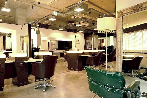 Hair Salon Unsarto en Omotesando