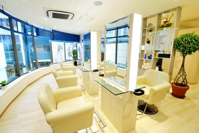 Jacques Moisant Paris Hair & Spa Salon Ginza