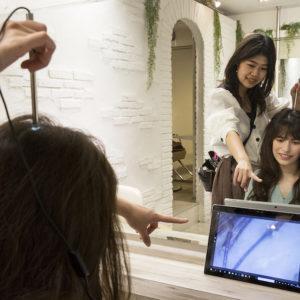 vi phạm vi salon Nhật Bản