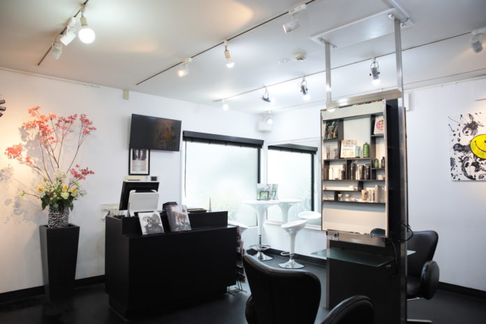 SIN DEN Hair Salon in Omotesando