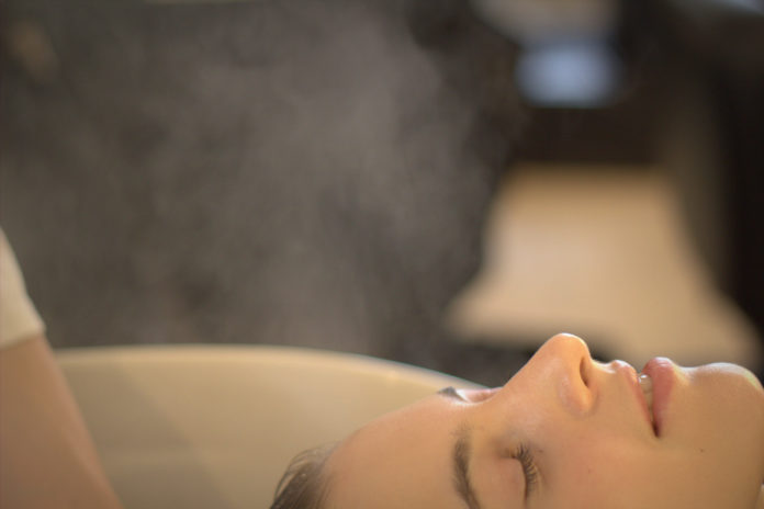 Prenez soin de cheveux avec un ultra-relaxant Spa Head à Tokyo